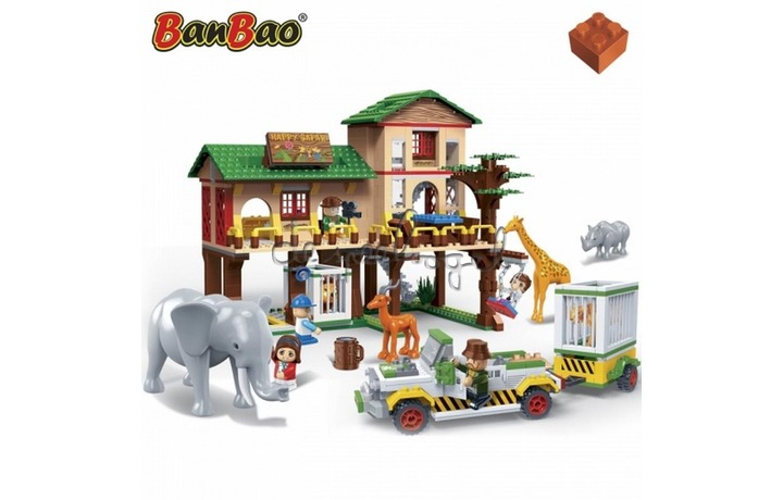 6651 Banbao Safari Safari ranch (829 pcs)