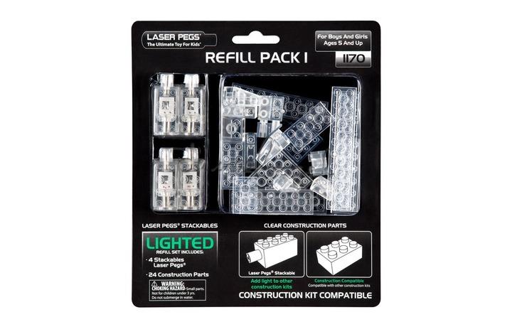 Laser peg refill pack A