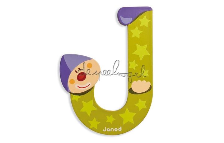 Letter J clown Janod