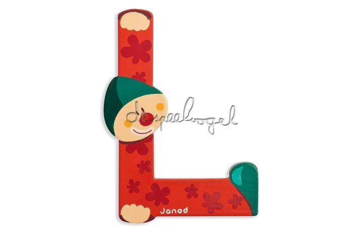Letter L clown Janod