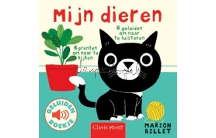 Mijn dieren (geluidenboekje /Billet, M.