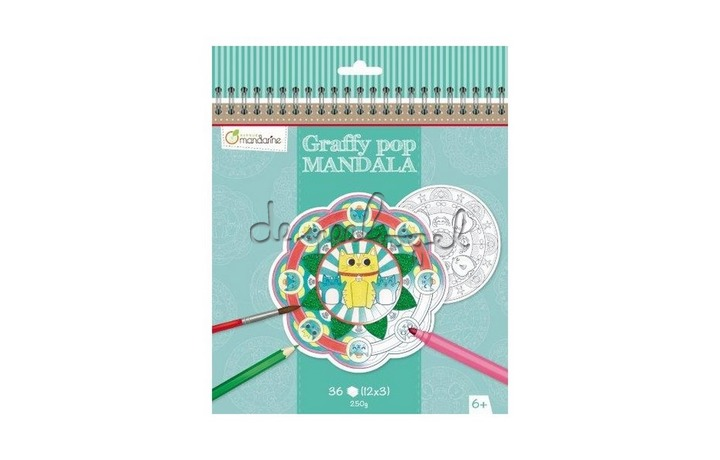 GY030 Graffy Pop Mandala, dieren