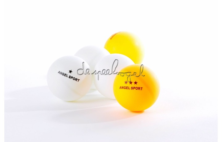 40103 Tafeltennisballen wit, 12 stuks 1 ster