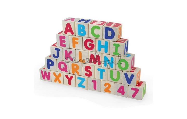 15517 Houten blokken , alfabet (30pcs)