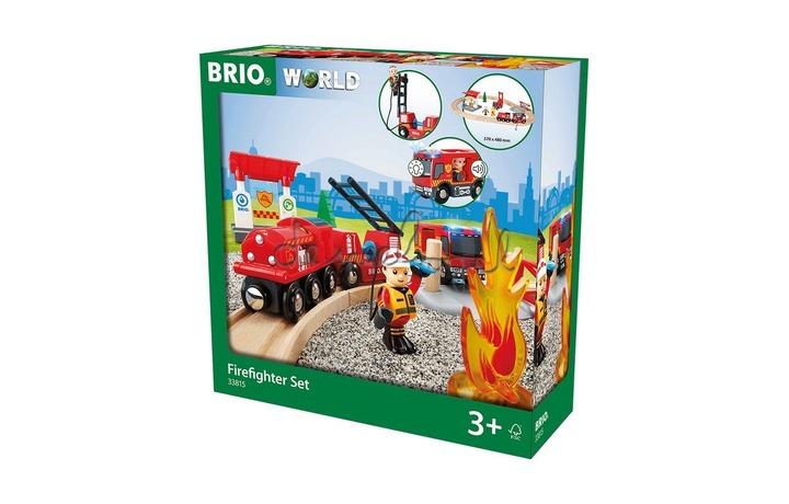 33815 Brandweer treinspeelset  Firefighter