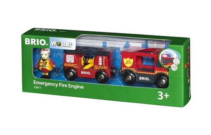 33811 Brandweerwagen Met Licht En Geluid