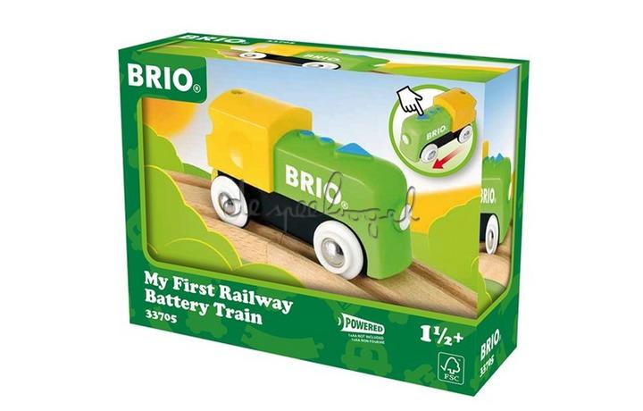 33705 Mijn Eerste Locomotief Op Batterijen