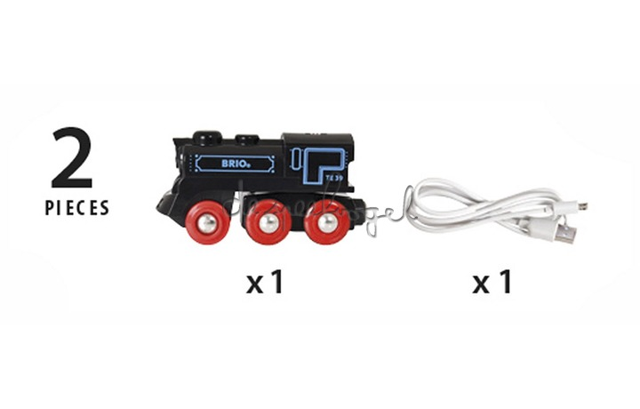 33599 Oplaadbare Locomotief