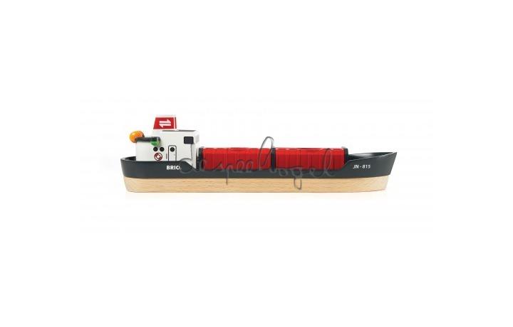 33061 treinspeelset haven met baggerschip
