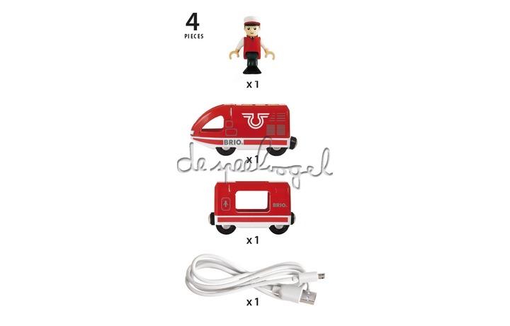 33746 Oplaadbare Trein USB