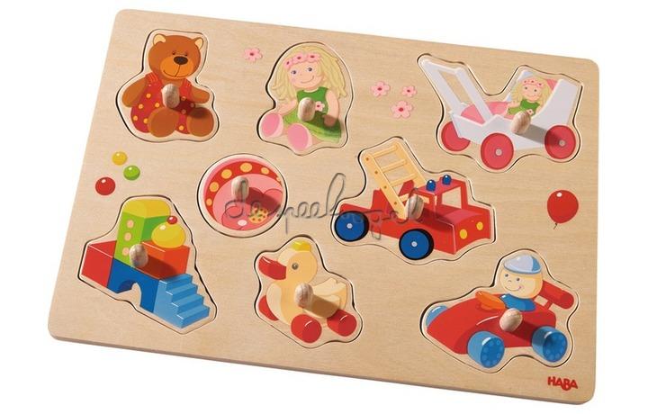 301963 Inlegpuzzel Mijn eerste speelgoed