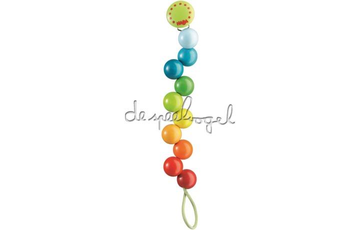 301114 Speenketting Regenboogparels
