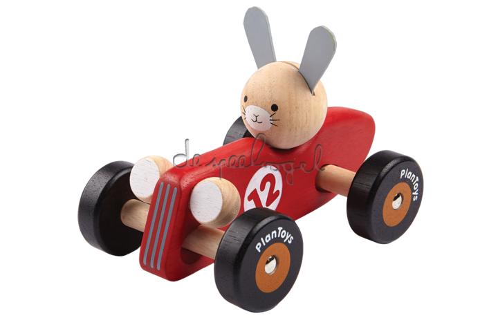 5704 Konijn racewagen
