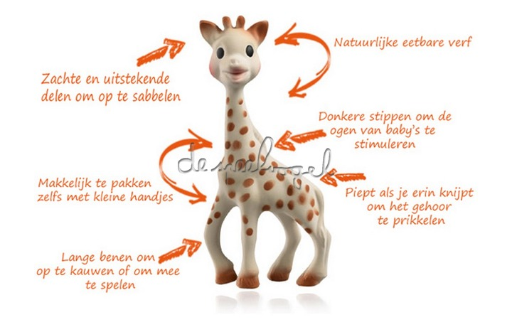 616400 Sophie la giraf, eerste babyspeeltje