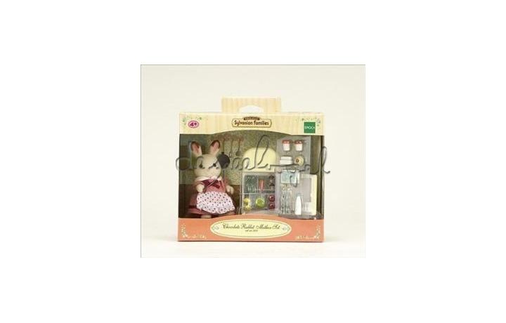 5014 Sylvanian Moederkonijn chocolade en koelkast