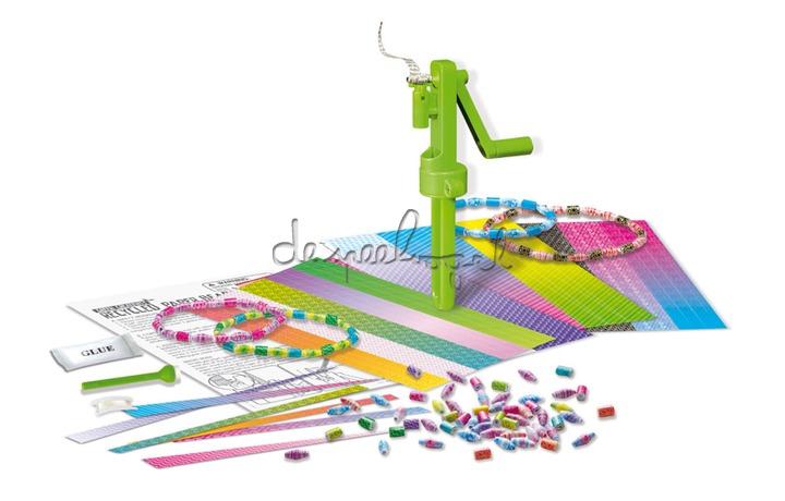 4M Green Creativity, gerecycleerde papieren ketting