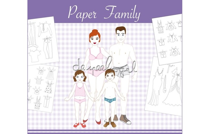 DYD paper family