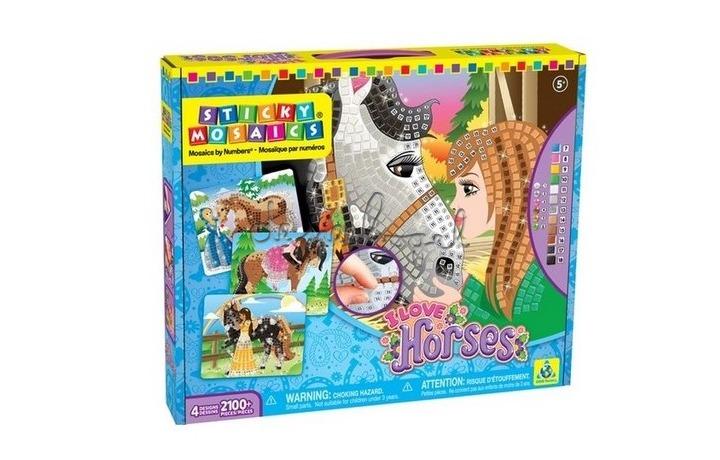 69100 Sticky Mosaics, Paarden
