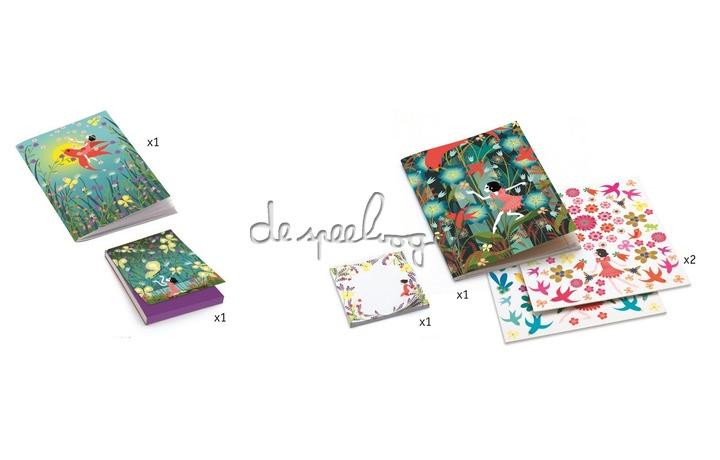 DJ09831 Mijn briefpapier - Violette