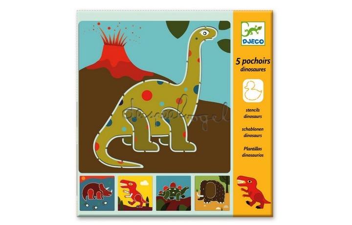 DJ08863 Sjablonen Dinosaurus