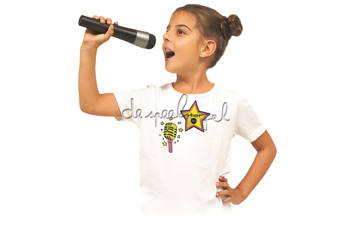 5306 Stampo T-shirt muziek