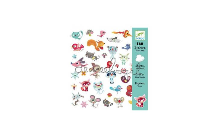 DJ08842 stickers vriendjes