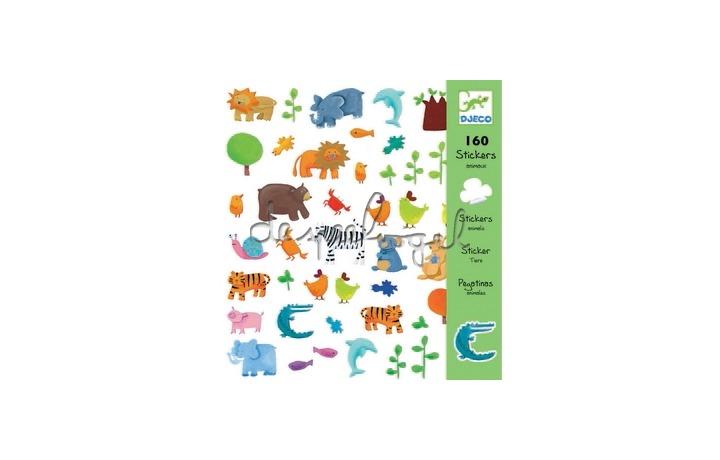 DJ08841 stickers dieren
