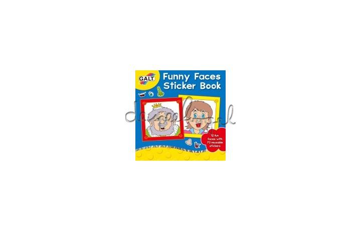 3069 stickerboek, grappige gezichten