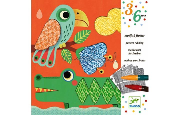 DJ08988 Reliëf tekenen - Les amis de Magali