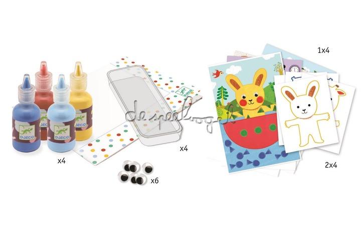 DJ09880 Schilderen met sponsjes, 3-6 jaar