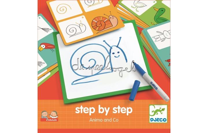 Dj08319 Step by step, dieren