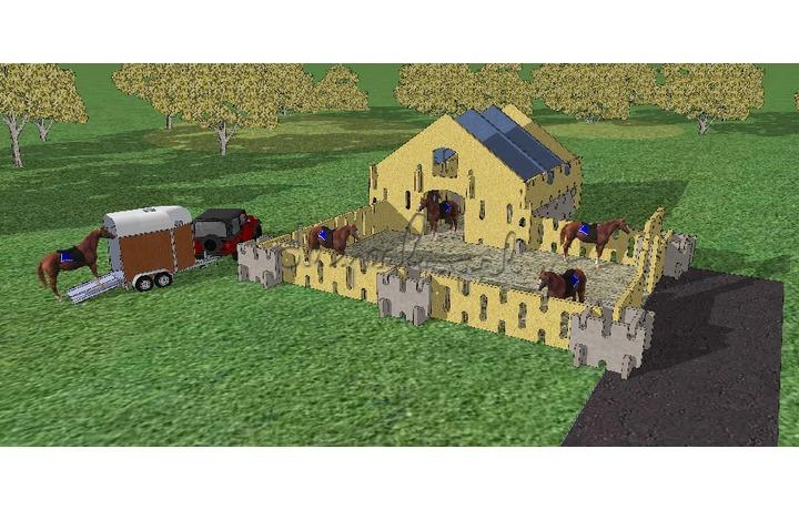 Ardennes toys paardenboerderij