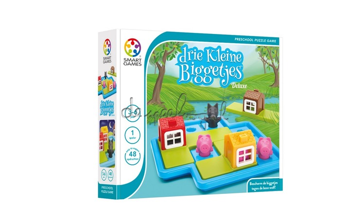SG 023 De Drie Kleine Biggetjes  - NEW PACKAGING 2016