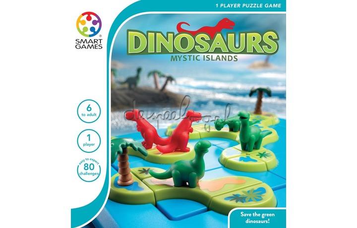 SG 282 Dinosaurs Mysterious Islands