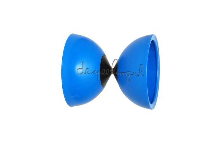 Diabolo spinner blauw