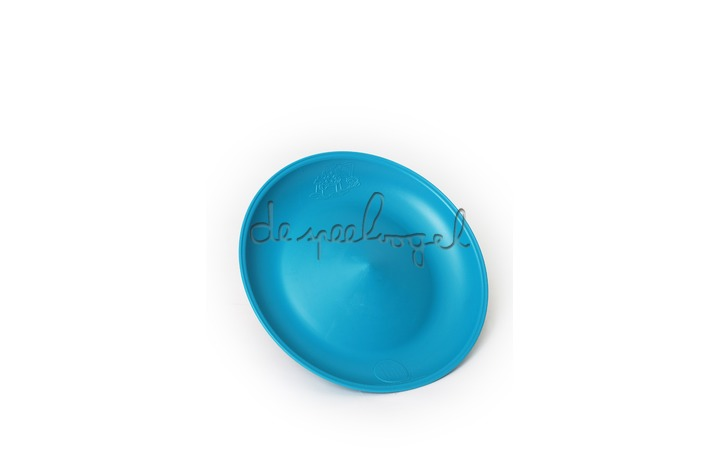 Chinees bord turquoise