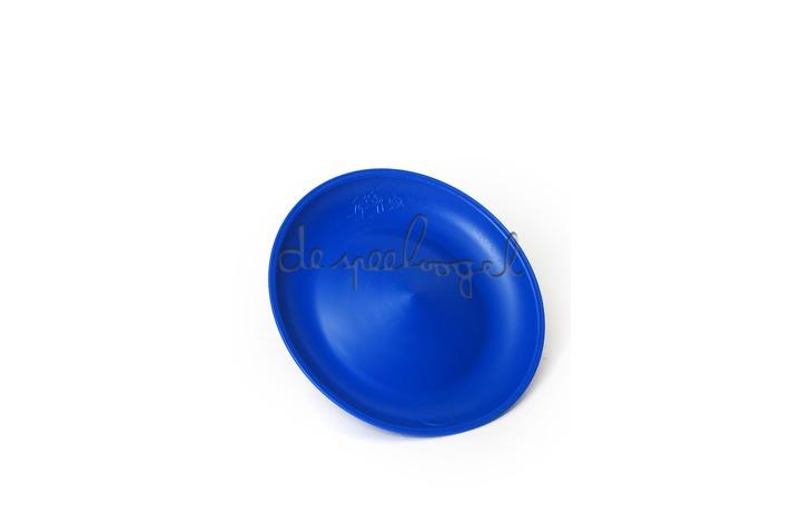 Chinees bord blauw