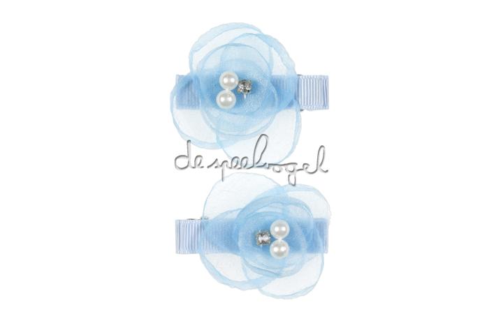 104057 Haarclips Sara, licht blauw