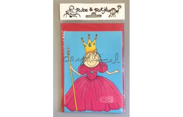 uitnodigingskaarten Rutje Prinses en Fee