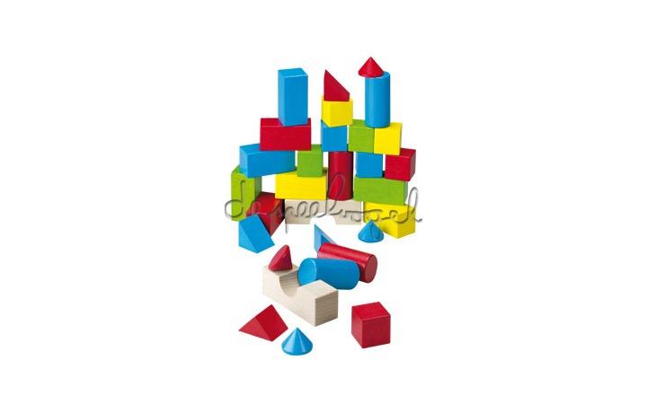 1076 houten gekleurde blokken