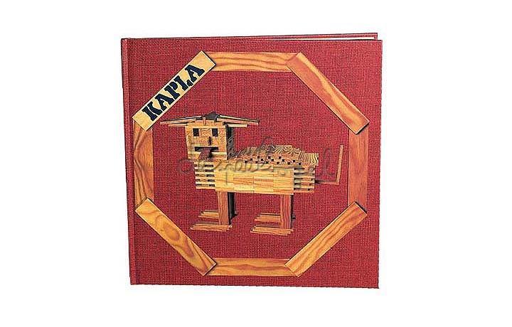 kapla boek 1 (rood)
