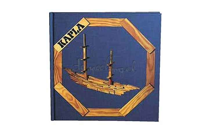kapla boek 2 (blauw)