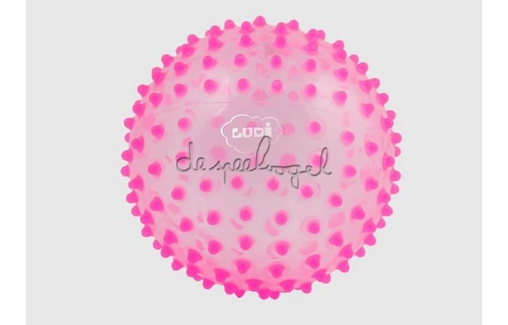 2795ro Zintuiglijke bal, roze 20cm