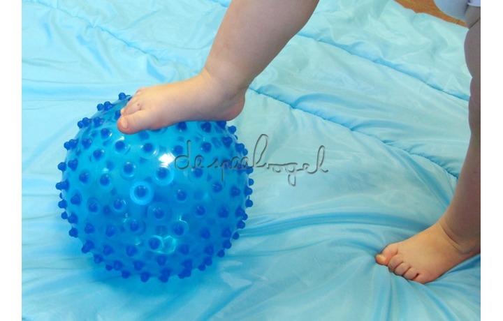 2795bl Zintuiglijke bal, blauw 20cm