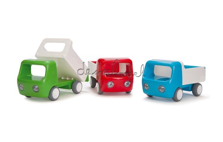 Kid O: Go vrachtwagen rood