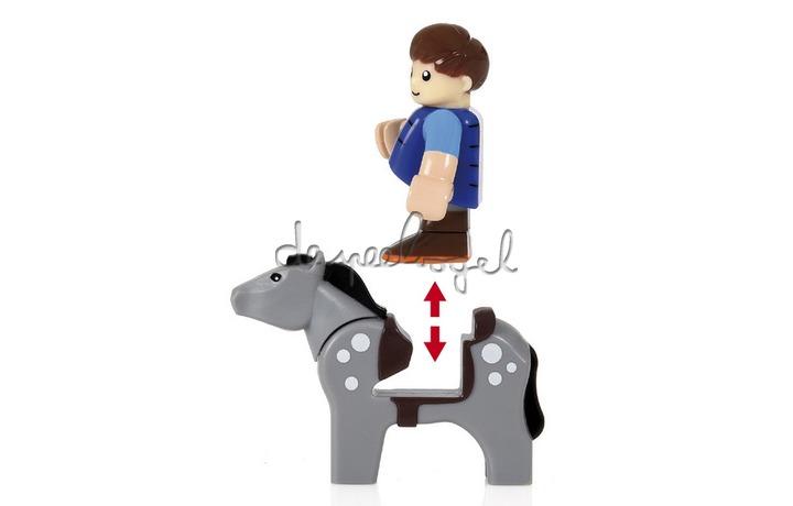 33794 Paard Met Jockey
