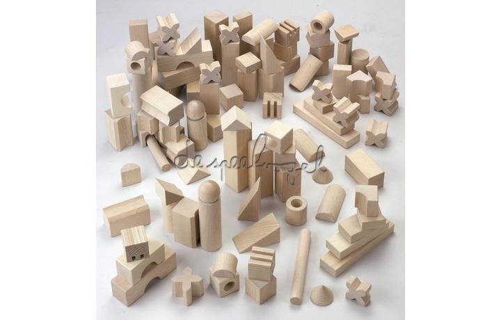1077 bouwblokken extra groot basispakket