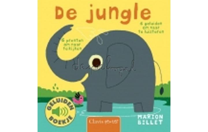 De jungle (geluidenboekje) /Billet, M.