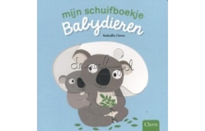Mijn schuifboekje - babydieren