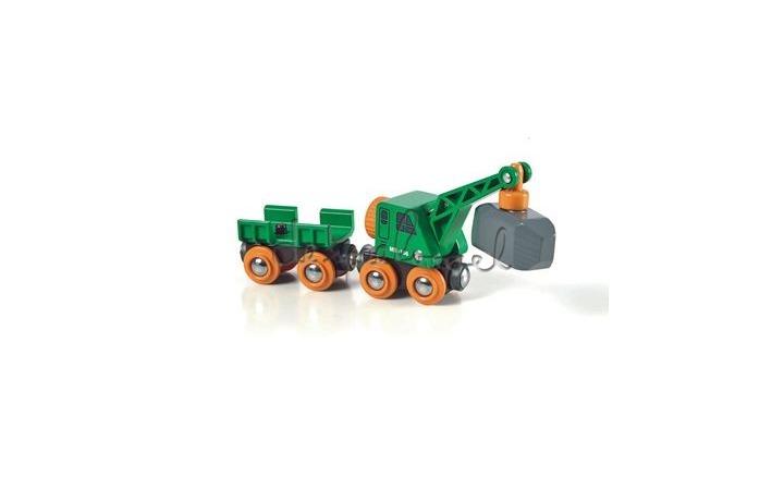 33698 wagon met kraan